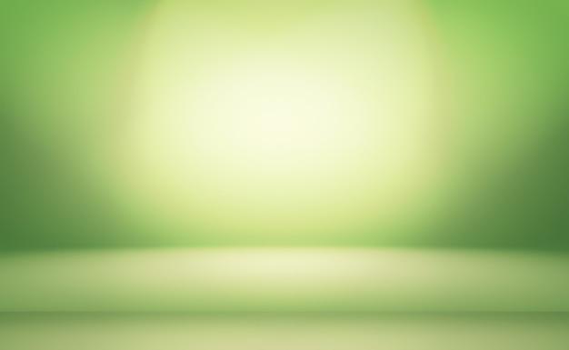 Pièce vide de fond abstrait dégradé vert avec un espace pour votre texte et votre image.