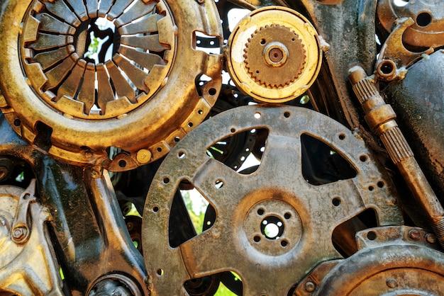 Pièces de machine en cuivre