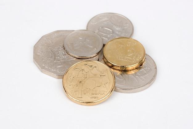 Pièces de monnaie australiennes, dollars