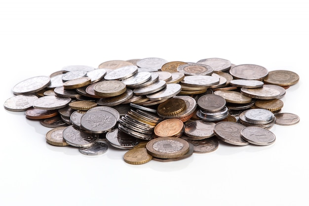 Pièces de monnaie de différents pays