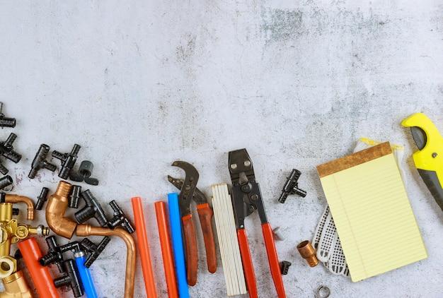 Pièces de plomberie, accessoires kit d'alimentation en eau outils pour couper des tuyaux en polypropylène