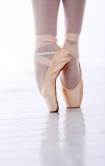 Les pieds de ballerine