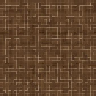 Pierres en céramique colorées. résumé smooth brown mosiac texture mosaïque en céramique abstraite ornée du bâtiment. modèle sans couture abstrait.