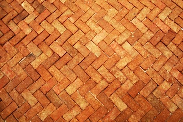 Pierres de chaussée en briques de terre cuite antiques intérieurs de carreaux de mur de luxe