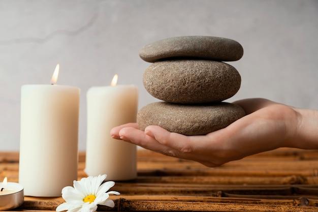 Pierres pour la méditation
