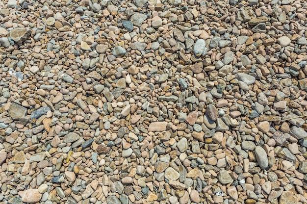 Pierres sur le sol