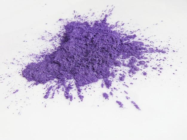 Pigments en poudre de mica violet pour cosmétiques