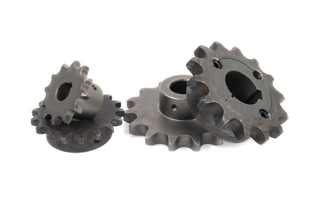 Pignons d'entraînement pour chaînes à rouleaux industrielles
