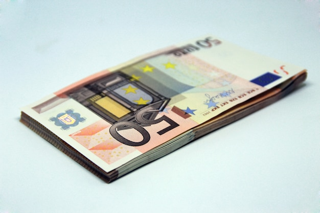 Pile de 50 euros