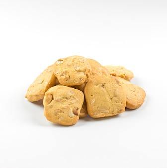 Pile de biscuits faits maison.