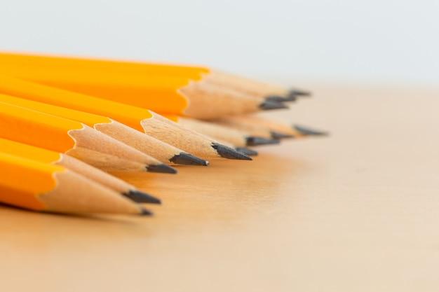 Pile de crayons