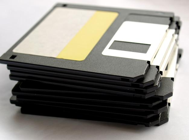 Pile de disquettes