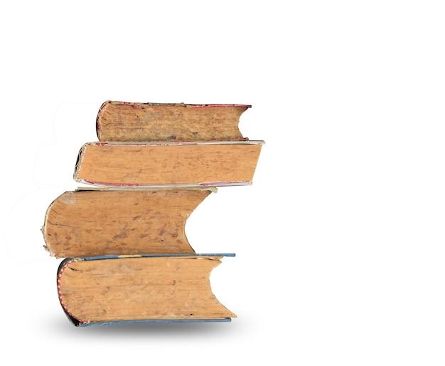 Pile de livres ensemble