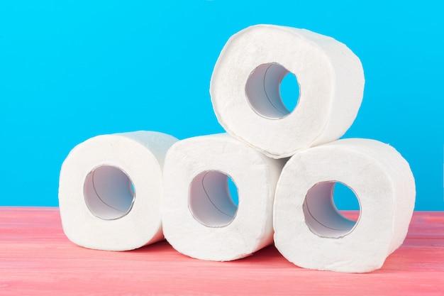 Pile de papier toilette