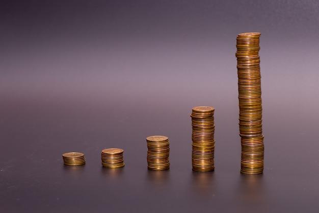 Pile de pièces d'or