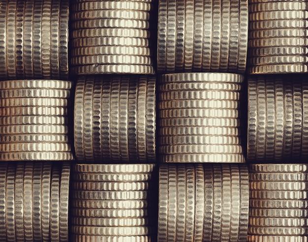 Pile de pièces