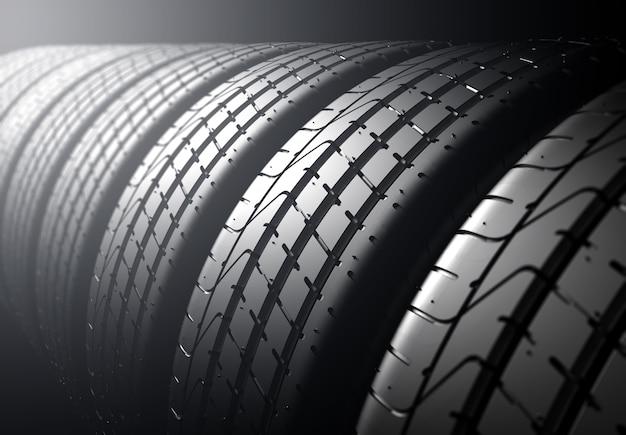 Pile de pneus