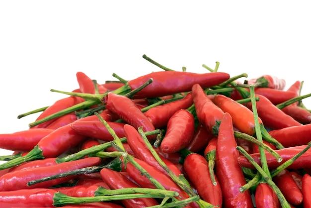 Pile de poivron rouge brésilien