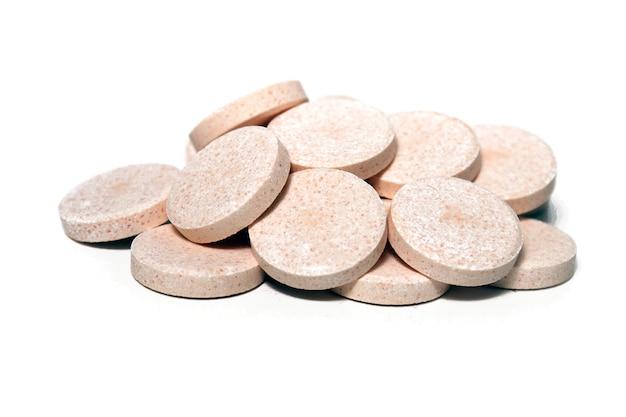Pile de tablette effervescente