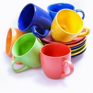 Pile tasses