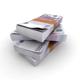 Piles de 500 euros