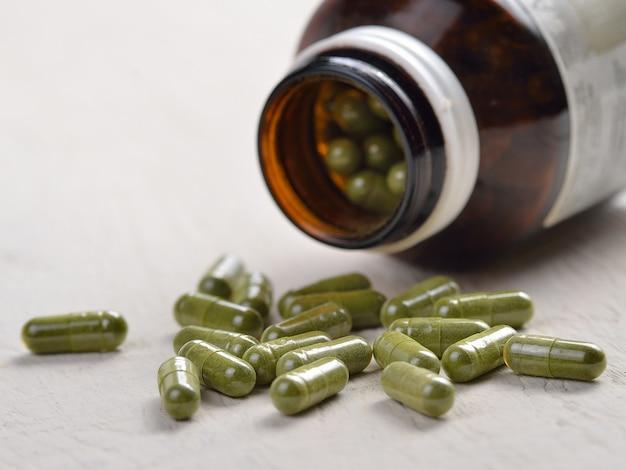 Pilules de capsule de moringa