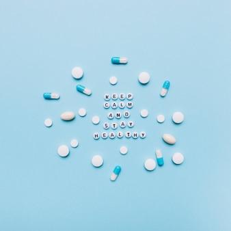 Pilules et écriture
