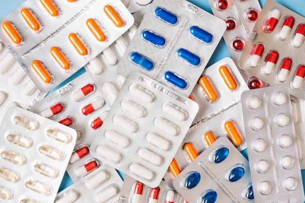 Pilules en paquet