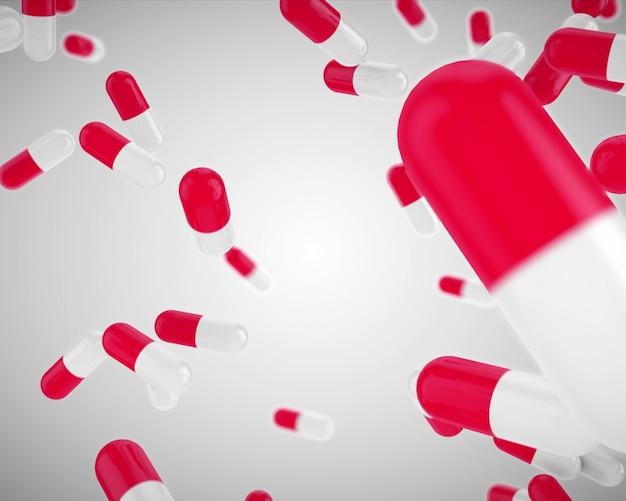 Pilules roses flottantes