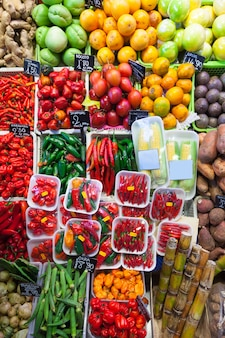 Piment et autres légumes