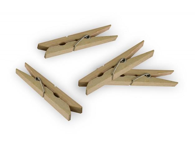 Pince à linge en bois