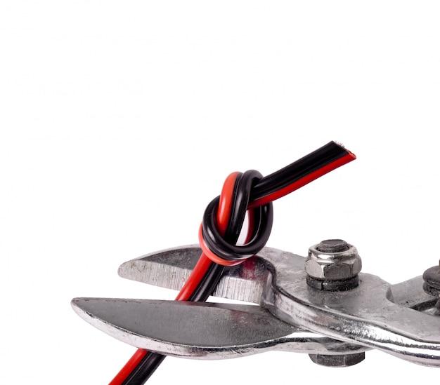 Pince à outils pour fil électrique