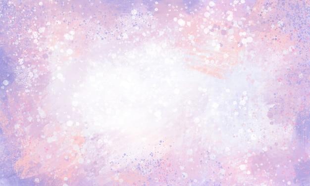 Pinceau large fond rose violet tacheté