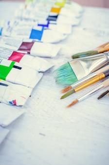 Pinceaux d'artiste