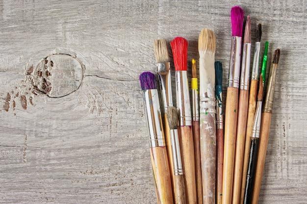Pinceaux pour la peinture