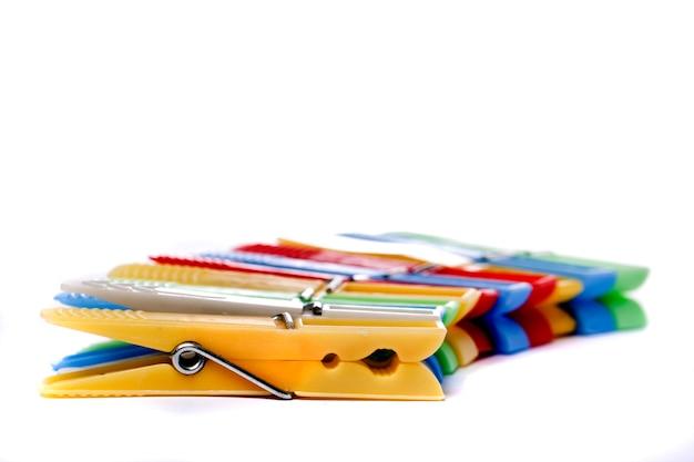 Pinces à linge colorées