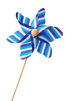 Pinwheel bleu