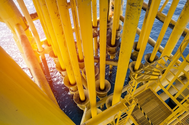 Pipeline de pétrole de production de pétrole et de gaz de l'industrie offshore