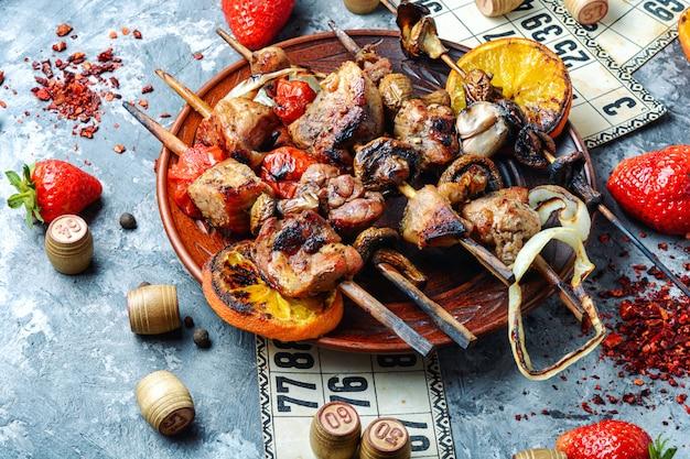 Pique-nique barbecue et loto