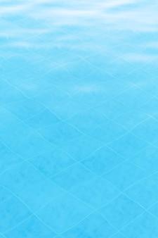 Piscine bleue texturée