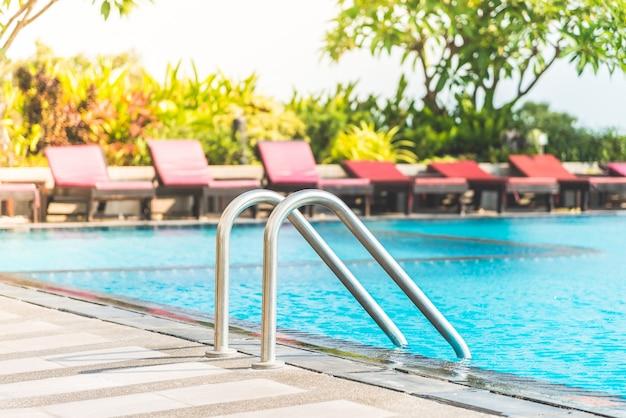 Piscine de luxe piscine échelle vacances