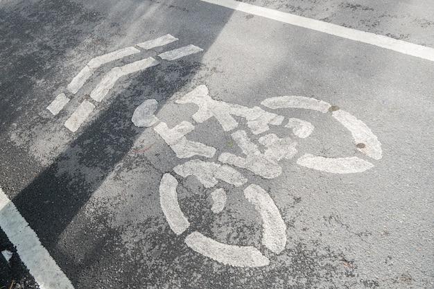 Pistes cyclables dans le parc