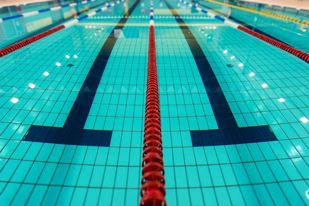 Pistes de natation
