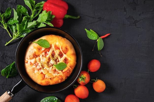 Pizza dans la casserole