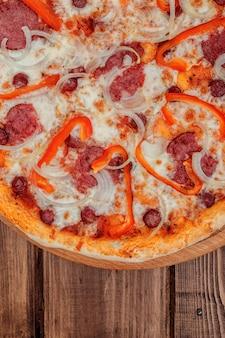 Pizza de fond
