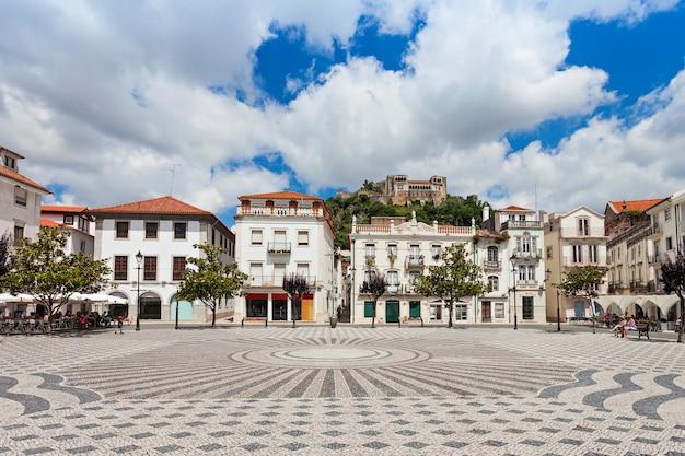 Place centrale de leiria, district de leiria, portugal