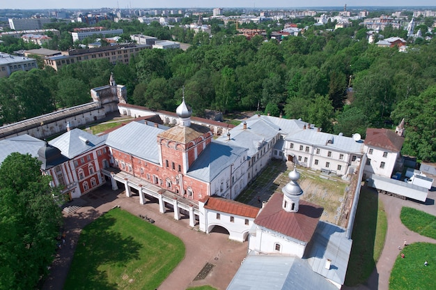 Place du kremlin à vologda, russie