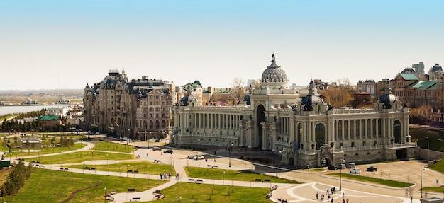 Place du palais à kazan