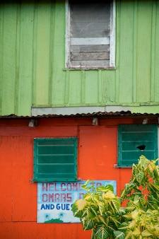 Placencia, bâtiment