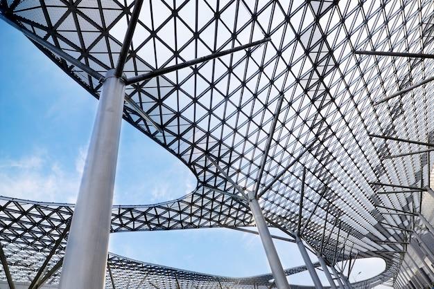 Plafond de structure en verre
